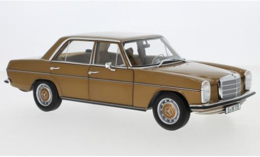 Mercedes 200 1/18 I Norev /8 (W115) metallise brown 1968 diecast model cars