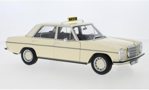 Mercedes 200 1/18 I Norev /8 (W115) Taxi (D) 1968 diecast model cars