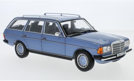 Mercedes 200 1/18 I Norev T (S123) metallise blue 1980 diecast model cars