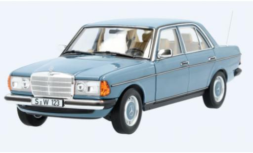 Mercedes 200 1/18 I Norev (W123) blue diecast model cars