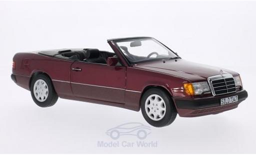 Mercedes 300 1/18 Norev CE-24 (A124) rouge Softtop zum aufsetzen liegt bei miniature