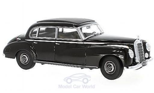 Mercedes 300 S 1/18 Norev (W186 II) marron miniature