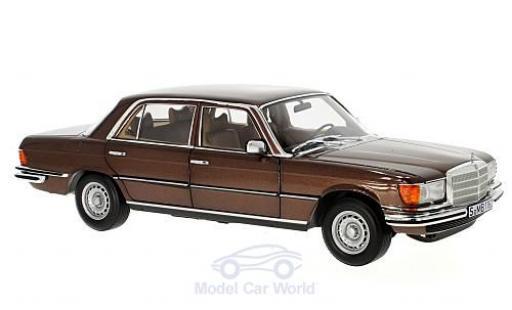 Mercedes 450 SEL 1/18 Norev 6.9 (W116) metallise marron 1976 miniature