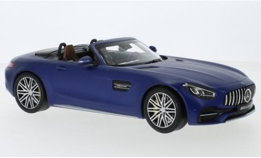 Mercedes AMG GT 1/18 Norev C Roadster (R190) matt-blue 2017 diecast model cars