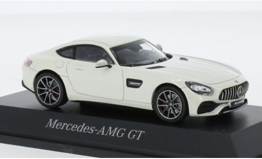 Mercedes AMG GT 1/43 Norev (C190) metallise white diecast model cars