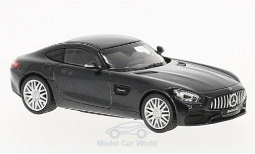 Mercedes AMG GT 1/43 Norev Coupe metallise noire miniature