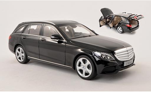 Mercedes Classe C 1/18 I Norev T-Modell (S205) noire 2014 miniature