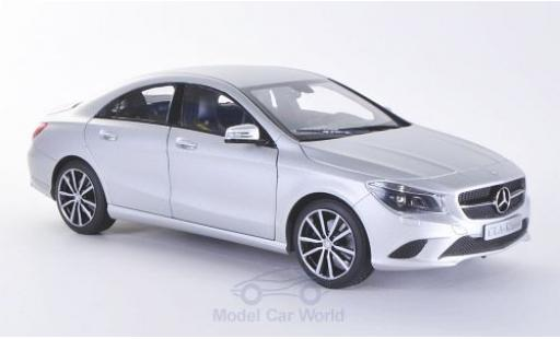 Mercedes CLA 1/18 Norev CLClasse A (C117) matt-grise 2013 miniature