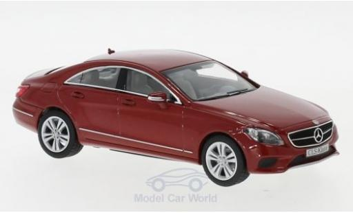 Mercedes CLS 1/43 Norev (C218) metallise rouge 2014 miniature
