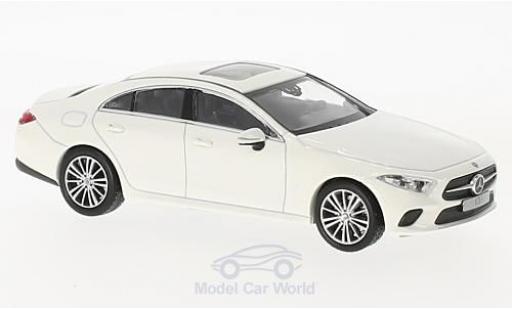 Mercedes Classe CLS 1/43 Norev Coupe (C257) blanche 2018 miniature