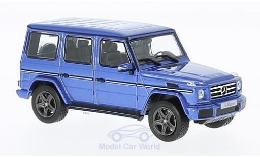 Mercedes Classe G 1/43 Norev (W463) metallise blue diecast model cars