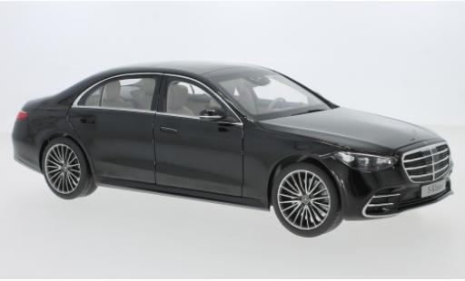 Mercedes Classe S 1/18 I Norev (V223) noire 2021 miniature