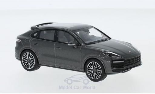 Porsche Cayenne S 1/43 Norev Coupe metallise grise 2019 miniature
