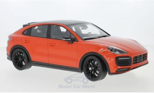 Porsche Cayenne S 1/18 Norev Coupe orange 2019 miniature