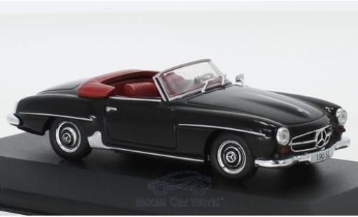 Mercedes 190 1/43 Pct SL (W121) noire 1955 miniature