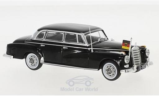 Mercedes 300 S 1/43 I PCT d (W189) black 1957 diecast