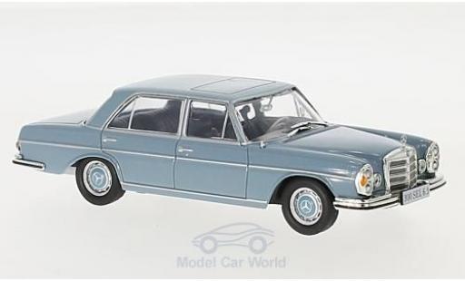 Mercedes 300 SEL 1/43 I PCT SEL 6.3 (W109) hellblu 1968 miniatura