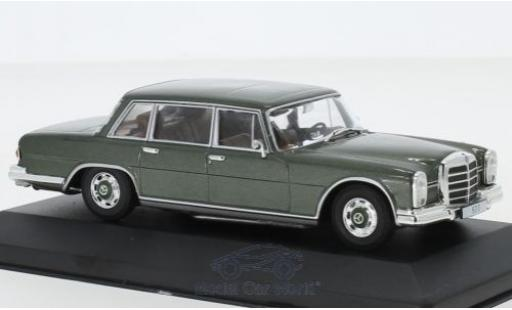Mercedes 600 1/43 Pct (W100) metallise green 1964 diecast model cars