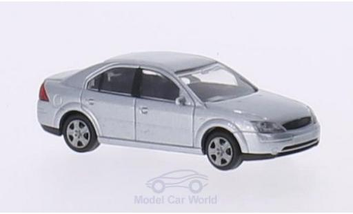 Ford Mondeo 1/87 Rietze MKIII grise 2000 ohne Vitrine miniature