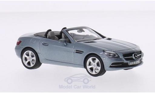 Mercedes Classe SLK 1/43 Schuco SLK-Klasse (R172) metallise grise 2011 miniature