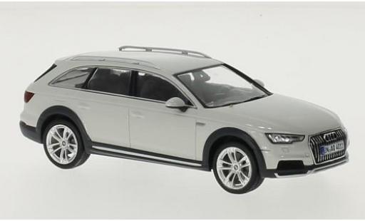 Audi A4 1/43 Spark Allroad quattro blanche 2016 miniature