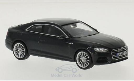 Audi A5 1/43 Spark Coupe metallise grise 2016 miniature