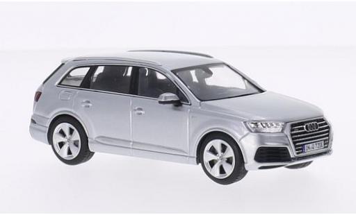 Audi Q7 1/43 Spark grise 2015 miniature