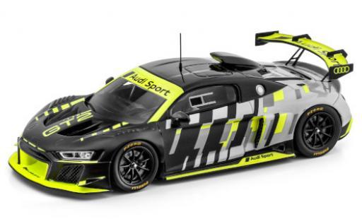 Audi R8 1/43 I Spark LMS GT2 matt-black/metallise grey Sport véhicule de présentation diecast model cars