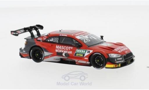 Audi RS5 1/43 Spark RS 5 DTM No.28 DTM 2019 L.Duval diecast model cars