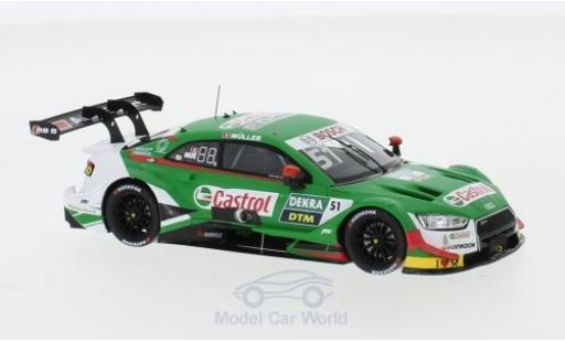 Audi RS5 1/43 Spark RS 5 DTM No.51 DTM 2019 N.Müller diecast model cars