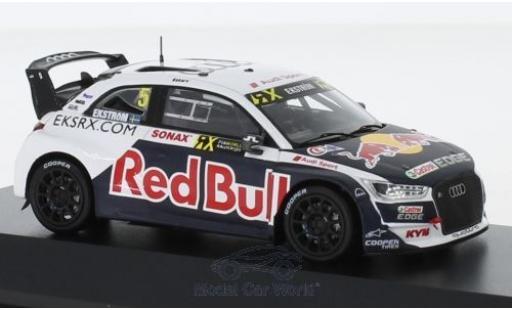 Audi S1 1/43 I Spark EKS RX quattro No.5 Red Bull Rallye-Cross WM 2018 M.Ekström miniature
