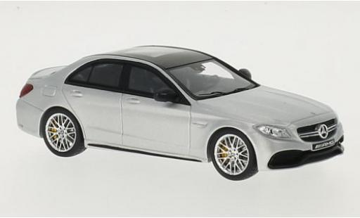 Mercedes Classe C 1/43 I Spark AMG C 63 S (W205) matt-grey diecast model cars
