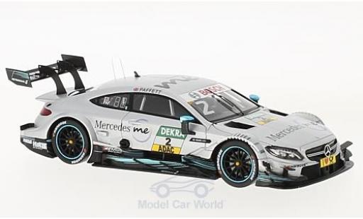 Mercedes Classe C DTM 1/43 Spark AMG C63 No.2 2017 G.Paffett miniature