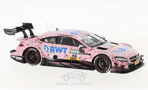 Mercedes Classe C DTM 1/43 Spark AMG C63 DTM No.48 BWT DTM 2017 E.Mortara miniature