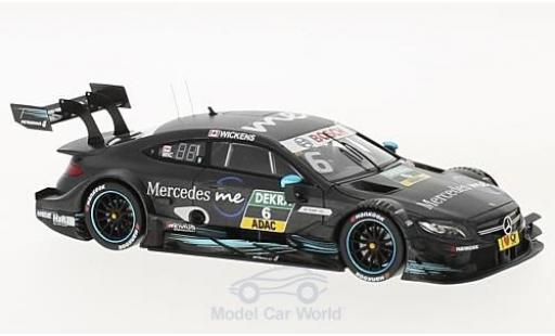Mercedes Classe C DTM 1/43 Spark AMG C63 DTM No.6 DTM 2017 R.Wickens miniature