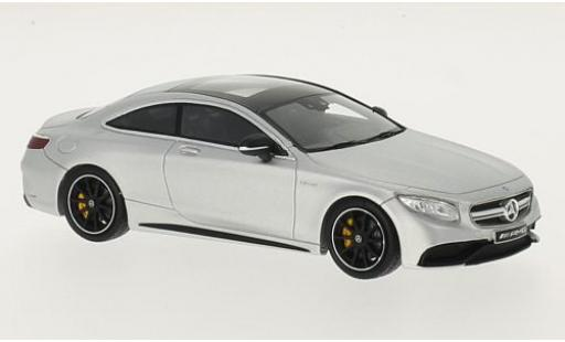 Mercedes Classe S 1/43 I Spark AMG S 63 Coupe (C217) matt-grise miniature