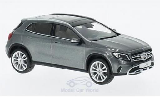 Mercedes Classe GLA 1/43 Spark GLA (X 156) Mopf métallisé grise miniature
