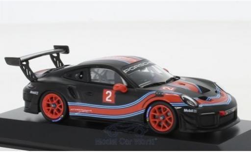 Porsche 991 GT2 RS 1/43 Spark 911 ( II) Clubsport matt-black/Dekor diecast model cars