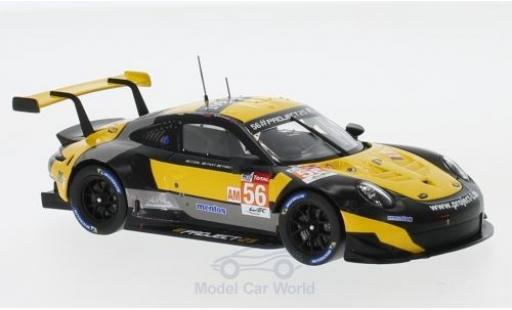Porsche 991 RSR 1/43 Spark 911 ( II) No.56 Project 25 WEC 2018 E.Perfetti/P.Lindsey/J.Bergmeister miniature