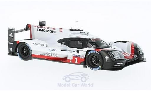 Porsche 919 2016 1/43 Spark Hybrid No.1 24h Le Mans Presentation Car diecast model cars