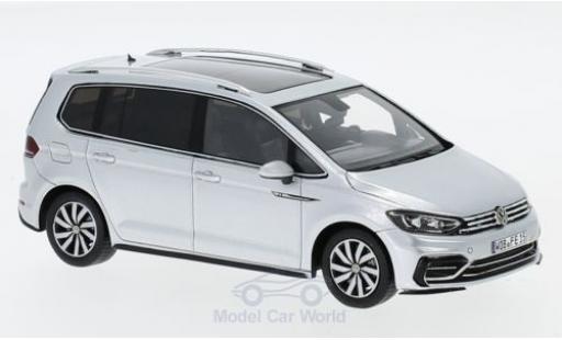 Volkswagen Touran 1/43 Spark R-Line grise miniature