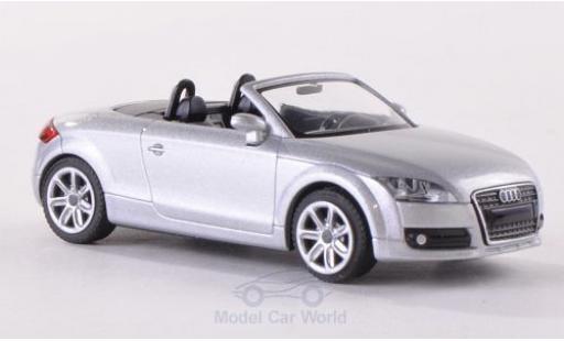 Audi TT 1/87 Wiking Roadster (8J) grise 2007 miniature