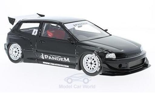Honda Civic 1/18 Ignition Model (EG6) by Pandem black RHD diecast