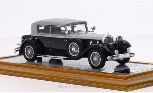 Mercedes 770 1/43 Ilario K (W07) Cabriolet D noire/grise 1930 sn83816 Verdeck geschlossen miniature