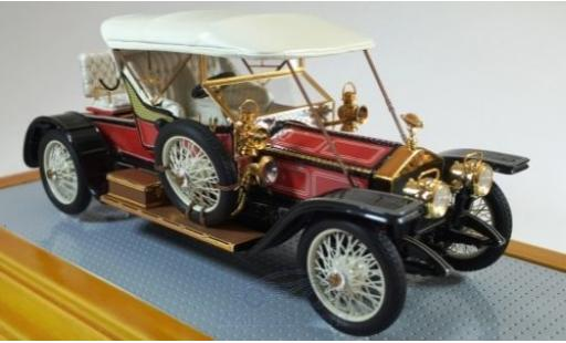 Rolls Royce Silver Ghost 1/43 Ilario Balloon Car rouge/noire RHD 1910 sn1513