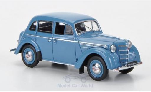 Moskwitsch 400 1/18 IST Models bleue 1954 miniature