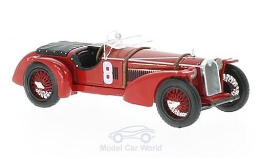 Alfa Romeo 8C 1/43 IXO RHD No.8 24h Le Mans 1932 R.Sommer/L.Chinetti diecast