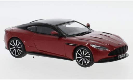 Aston Martin DB1 1/43 IXO DB 11 metallise rouge/noire 2016