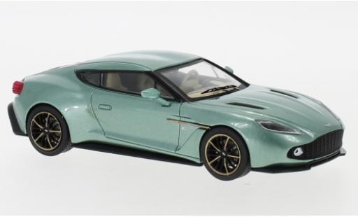 Aston Martin V12 1/43 IXO Vanquish Zagato metallise verte 2016