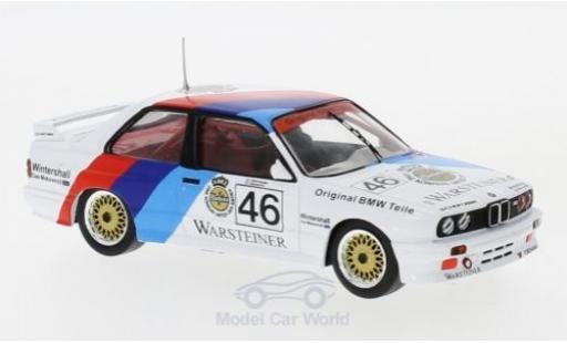 Bmw M3 E30 1/43 IXO BMW (E30) No.46 BMW Motorsport WTCC 1987 E.Pirro/R.Ravaglia diecast